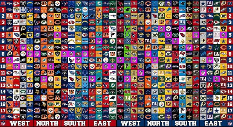 calendario NFL 2017