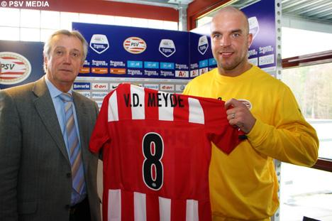 Van Der Meyde al PSV