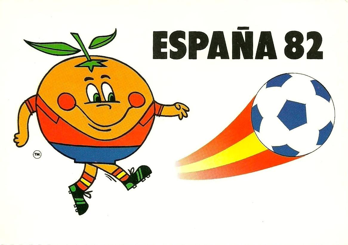 Mascotte Spagna 82: Naranjito