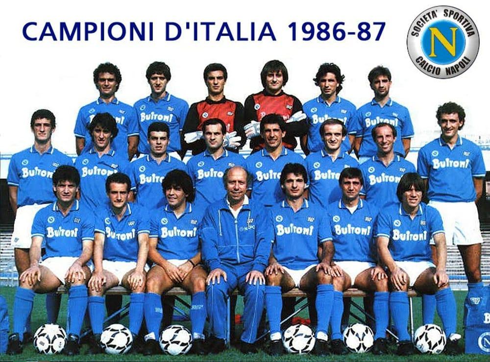 Formazione Napoli Scudetto 1987: il primo della storia