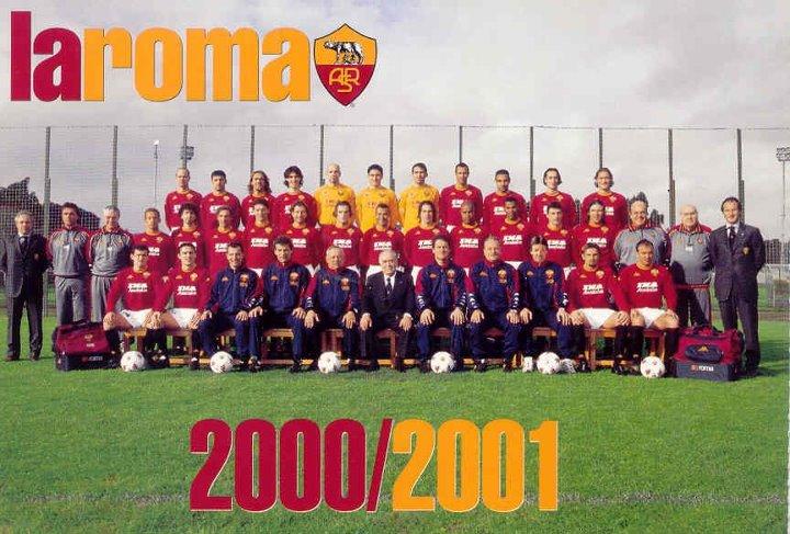 Formazione Roma scudetto 2001