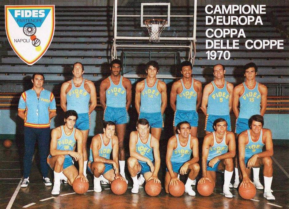 Fides Partenope Napoli 1970: il successo storico in Coppa delle Coppe