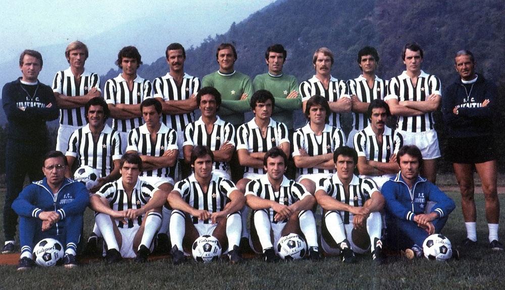 Formazione juventus 1977 l 39 anno del doblete campionato for Rosa dei mobili torino