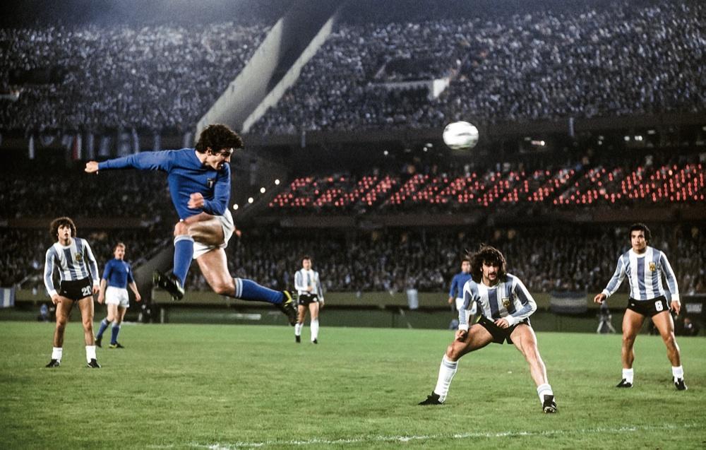 Italia-Argentina 1978: l'1-0 azzurro in casa dei futuri campioni