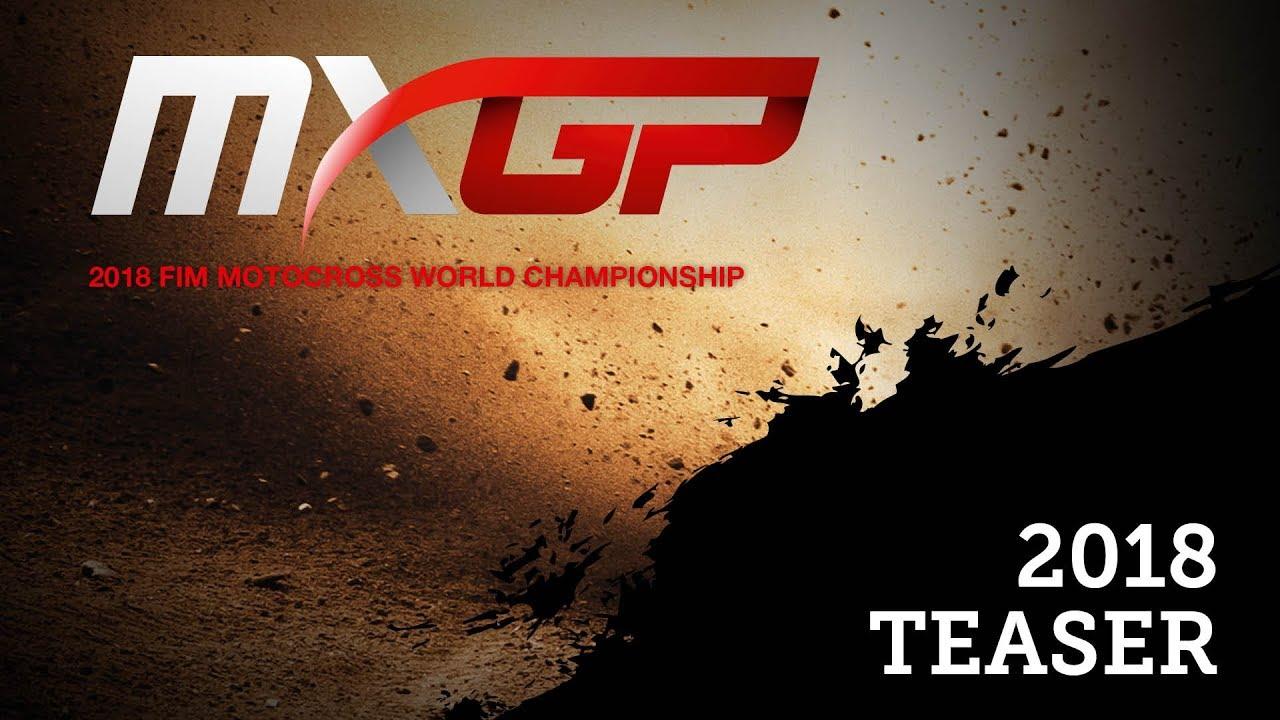 Calendario Mondiale Motocross 2018