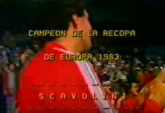 Finale Coppa delle Coppe 1983: Scavolini-Villeurbanne