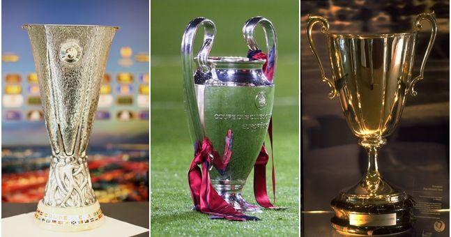 Albo d'oro Coppe Europee calcio
