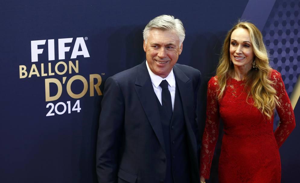 Chi è la moglie di Ancelotti: Barrena McClay