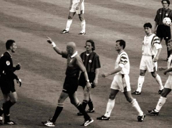 Foggia-Bari 1996/97: l'inversione di campo di Collina