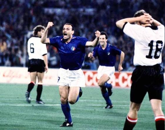 Italia Austria 1990: formazioni, tabellino, video