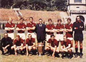 Formazione Milan seconda Coppa Campioni
